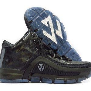 Adidas SM J WALL 2 BLACK ICE Shoes  AQ7737 SZ 14